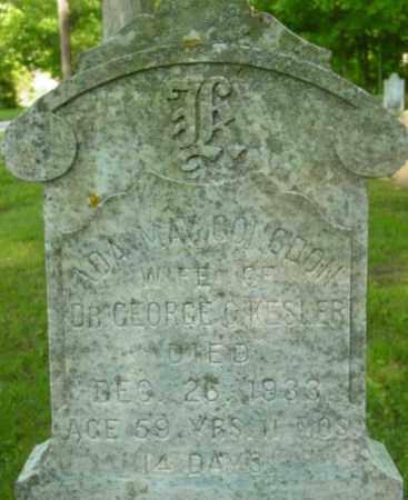 KESLER, ADA MAY - Berkshire County, Massachusetts | ADA MAY KESLER - Massachusetts Gravestone Photos