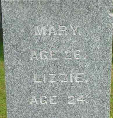 KIDGELL, LIZZIE - Berkshire County, Massachusetts | LIZZIE KIDGELL - Massachusetts Gravestone Photos