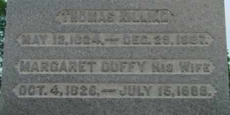 KILLIAN, MARGARET - Berkshire County, Massachusetts | MARGARET KILLIAN - Massachusetts Gravestone Photos