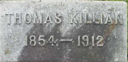KILLIAN, THOMAS - Berkshire County, Massachusetts | THOMAS KILLIAN - Massachusetts Gravestone Photos