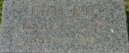 KING, MARY E - Berkshire County, Massachusetts | MARY E KING - Massachusetts Gravestone Photos
