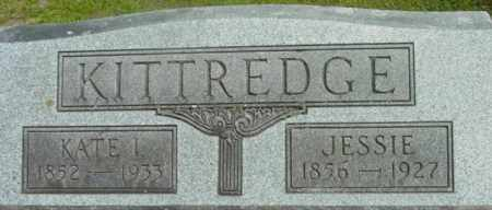 KITTREDGE, JESSIE - Berkshire County, Massachusetts | JESSIE KITTREDGE - Massachusetts Gravestone Photos
