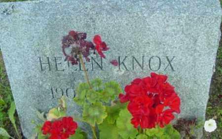 KNOX, HELEN - Berkshire County, Massachusetts   HELEN KNOX - Massachusetts Gravestone Photos