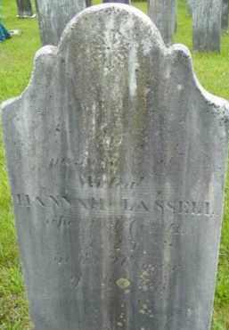BINGHAM LASSELL, HANNAH - Berkshire County, Massachusetts | HANNAH BINGHAM LASSELL - Massachusetts Gravestone Photos
