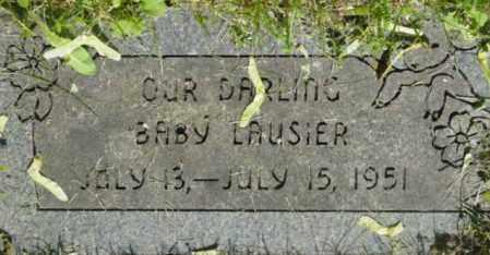 LAUSIER, BABY - Berkshire County, Massachusetts   BABY LAUSIER - Massachusetts Gravestone Photos