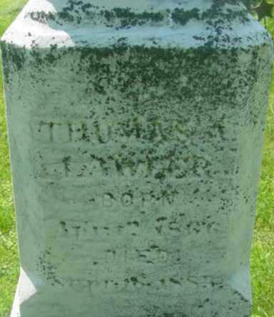 LAWLER, THOMAS A - Berkshire County, Massachusetts | THOMAS A LAWLER - Massachusetts Gravestone Photos