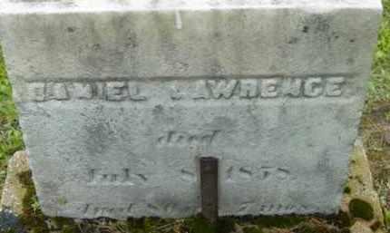 LAWRENCE, DANIEL - Berkshire County, Massachusetts | DANIEL LAWRENCE - Massachusetts Gravestone Photos