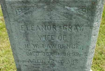 GRAY, ELEANOR - Berkshire County, Massachusetts | ELEANOR GRAY - Massachusetts Gravestone Photos