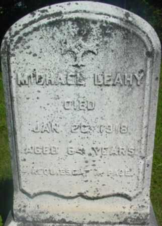 LEAHY, MICHAEL - Berkshire County, Massachusetts   MICHAEL LEAHY - Massachusetts Gravestone Photos