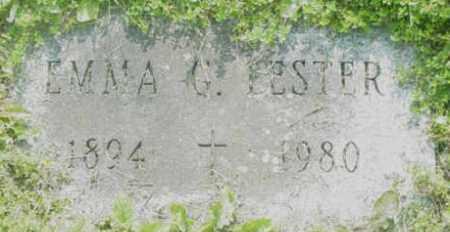 LESTER, EMMA G - Berkshire County, Massachusetts | EMMA G LESTER - Massachusetts Gravestone Photos