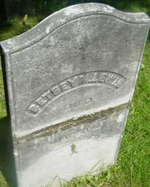 LEWIS, BETSEY M - Berkshire County, Massachusetts   BETSEY M LEWIS - Massachusetts Gravestone Photos