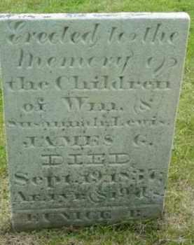 LEWIS, JAMES G - Berkshire County, Massachusetts   JAMES G LEWIS - Massachusetts Gravestone Photos