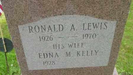 LEWIS, EDNA M - Berkshire County, Massachusetts | EDNA M LEWIS - Massachusetts Gravestone Photos