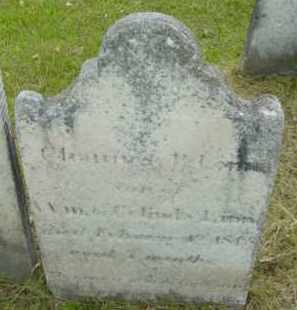 LINN, CHAUNCEY P - Berkshire County, Massachusetts | CHAUNCEY P LINN - Massachusetts Gravestone Photos