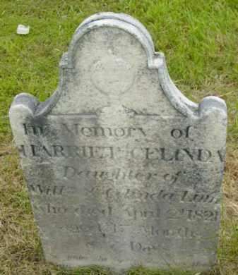 LINN, HARRIET CELINDA - Berkshire County, Massachusetts | HARRIET CELINDA LINN - Massachusetts Gravestone Photos