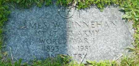 LINNEHAN (WWI), JAMES W - Berkshire County, Massachusetts | JAMES W LINNEHAN (WWI) - Massachusetts Gravestone Photos