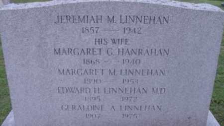 LINNEHAN, MARGARET G - Berkshire County, Massachusetts | MARGARET G LINNEHAN - Massachusetts Gravestone Photos