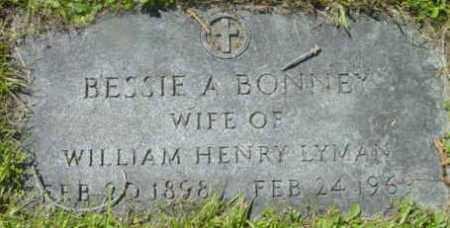 BONNEY, BESSIE A - Berkshire County, Massachusetts | BESSIE A BONNEY - Massachusetts Gravestone Photos