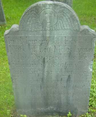 LYMAN, LUCY - Berkshire County, Massachusetts | LUCY LYMAN - Massachusetts Gravestone Photos