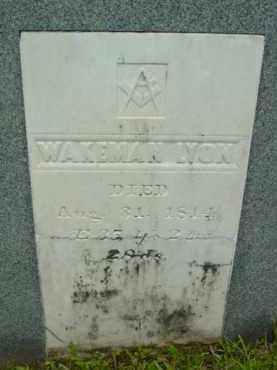 LYON, WAKEMAN - Berkshire County, Massachusetts   WAKEMAN LYON - Massachusetts Gravestone Photos