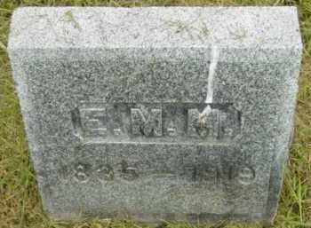 MACK, E M - Berkshire County, Massachusetts | E M MACK - Massachusetts Gravestone Photos