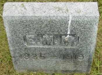 MACK, E M - Berkshire County, Massachusetts | E M MACK - Massachusetts Gravestone Photos