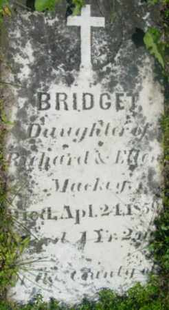 MACKEY, BRIDGET - Berkshire County, Massachusetts | BRIDGET MACKEY - Massachusetts Gravestone Photos