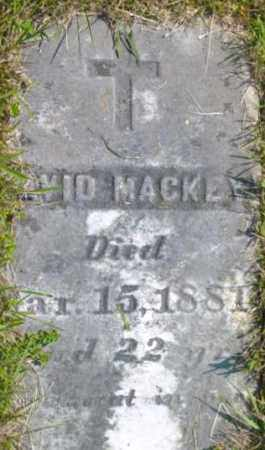 MACKEY, DAVID - Berkshire County, Massachusetts | DAVID MACKEY - Massachusetts Gravestone Photos