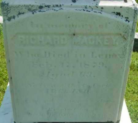 MACKEY, RICHARD - Berkshire County, Massachusetts | RICHARD MACKEY - Massachusetts Gravestone Photos