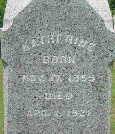 MAHER, KATHERINE - Berkshire County, Massachusetts   KATHERINE MAHER - Massachusetts Gravestone Photos