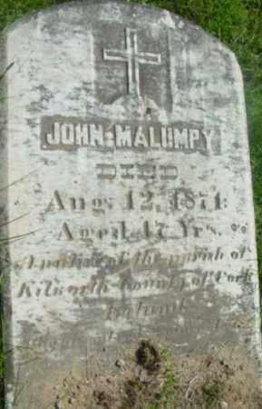 MALUMPY, JOHN - Berkshire County, Massachusetts   JOHN MALUMPY - Massachusetts Gravestone Photos