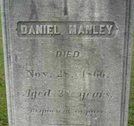 MANLEY, DANIEL - Berkshire County, Massachusetts   DANIEL MANLEY - Massachusetts Gravestone Photos
