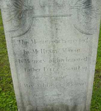 MARSH, PEREZ - Berkshire County, Massachusetts   PEREZ MARSH - Massachusetts Gravestone Photos
