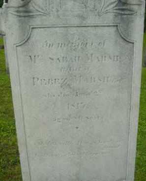 MARSH, SARAH - Berkshire County, Massachusetts   SARAH MARSH - Massachusetts Gravestone Photos