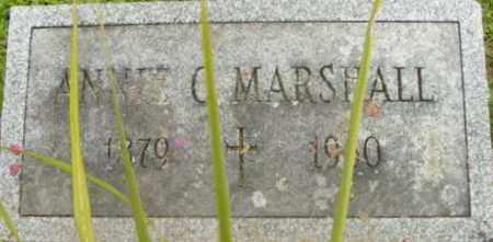 MARSHALL, ANNIE C - Berkshire County, Massachusetts | ANNIE C MARSHALL - Massachusetts Gravestone Photos