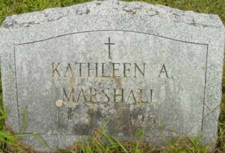 MARSHALL, KATHLEEN A - Berkshire County, Massachusetts | KATHLEEN A MARSHALL - Massachusetts Gravestone Photos