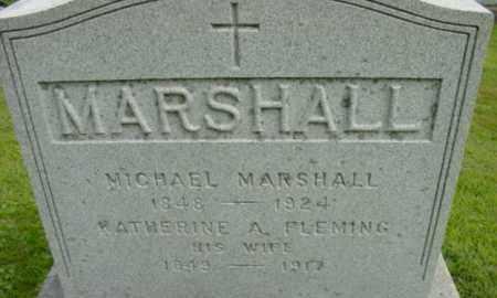 MARSHALL, KATHERINE A - Berkshire County, Massachusetts | KATHERINE A MARSHALL - Massachusetts Gravestone Photos