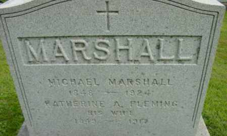 FLEMING MARSHALL, KATHERINE A - Berkshire County, Massachusetts | KATHERINE A FLEMING MARSHALL - Massachusetts Gravestone Photos