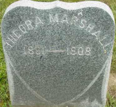 MARSHALL, THEORA - Berkshire County, Massachusetts   THEORA MARSHALL - Massachusetts Gravestone Photos