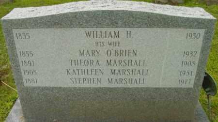 O'BRIEN MARSHALL, MARY - Berkshire County, Massachusetts   MARY O'BRIEN MARSHALL - Massachusetts Gravestone Photos