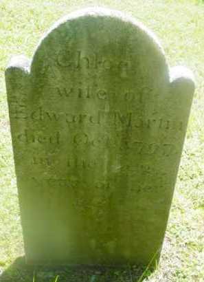 MARTIN, CHLOE - Berkshire County, Massachusetts | CHLOE MARTIN - Massachusetts Gravestone Photos