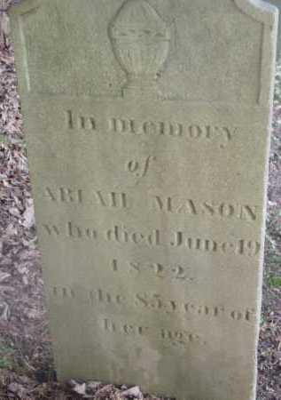 MASON, ABIAH - Berkshire County, Massachusetts | ABIAH MASON - Massachusetts Gravestone Photos