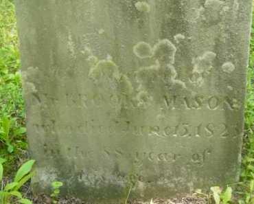 MASON, BROOKS - Berkshire County, Massachusetts | BROOKS MASON - Massachusetts Gravestone Photos