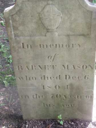 MASON, BARNET - Berkshire County, Massachusetts | BARNET MASON - Massachusetts Gravestone Photos