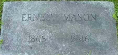 MASON, ERNEST - Berkshire County, Massachusetts | ERNEST MASON - Massachusetts Gravestone Photos