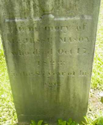 MASON, JESSE - Berkshire County, Massachusetts | JESSE MASON - Massachusetts Gravestone Photos