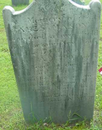 MASON, JAMES - Berkshire County, Massachusetts | JAMES MASON - Massachusetts Gravestone Photos