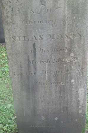 MASON, SILAS - Berkshire County, Massachusetts | SILAS MASON - Massachusetts Gravestone Photos