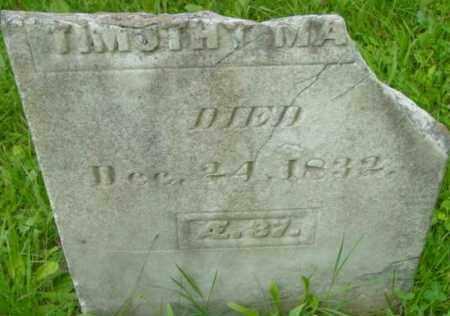 MASON, TIMOTHY - Berkshire County, Massachusetts | TIMOTHY MASON - Massachusetts Gravestone Photos
