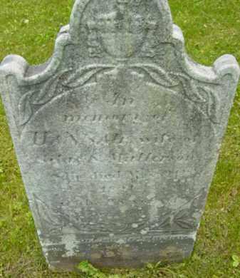 MATTERSON, HANNAH - Berkshire County, Massachusetts | HANNAH MATTERSON - Massachusetts Gravestone Photos